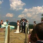Great location for outdoor wedding