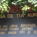 At Casa de Tia Aura