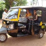 village visit by tuk-tuk