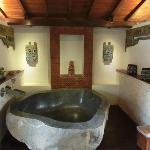 Stone bath tub