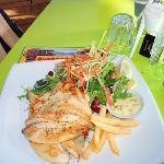 Sensational Fish & Chip at Quarterdeck