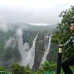 Jog Falls top view