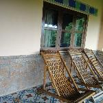 Balcony area