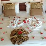 Honeymooners bed