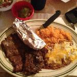 Carne Asada at Rositas in July, 2012--quite a meal!