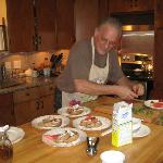 Tony, the chef, in his element :o)