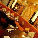 Raised Dining Area