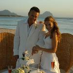 Wedding ceremony on beach