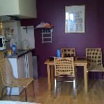 Kitchenette + eating area