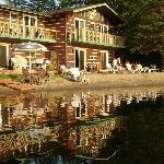 plage, canot, kayak, pedalo gratuit, coucher de soleil, chaleureux acceuil.