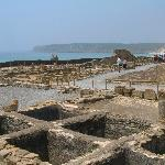 Roman City Ruins at Bolonia next to Tarifa