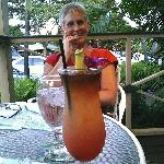 wife and my mai tai