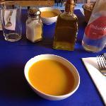 La soupe froide en entrée