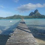 Eden Beach Bora Bora - July 2012