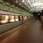 The metro takes you to DC in 20min