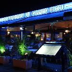 restaurant by night