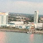View of Windsor, Ontario, Canada from my room