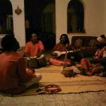 Bengali Folk Singer Goutam Das Baul entertaining in Mitali's living room!