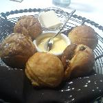 Aebleskivers w/ Lemon Curd