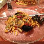 trofie ai frutti di mare