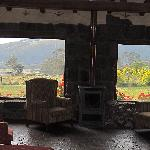 view from the main sitting room