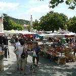 market day in Reillanne