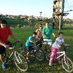 Bike com a familia
