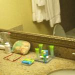 Great amenities in the room!