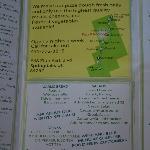 Page 2 of menu & map (July 2012)