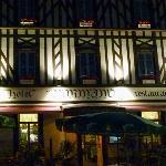 Hôtel NORMAND Restaurant- Façâde