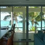 View from Villa 5 Cooks Bay Villas