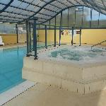 Our All Seasons Indoor/Outdoor Heated Pool and Spa