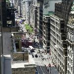 Our view down Fifth Avenue
