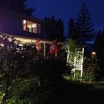 Die Schweizerfahne wurde sofort nach unserer Ankunft ausgehängt