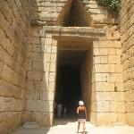 Ouside Beehive Tombs at Mycenae
