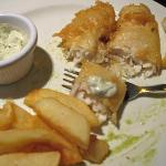Fish & Chips, and Mushy Peas
