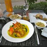 Lobster Curry $59 Onaga $32 Mushroom Fried Rice $10 Mai Tai $16 Abalone $28 Chocolate Souffle $1