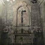 The main crypt room altar