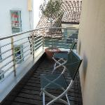 Private deck for room 212