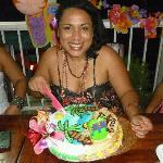 the birthday in bocas Paradaise