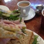 a massive pre-walk sandwich