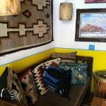 Our sitting room..loved the colors