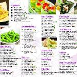 all you can eat menu