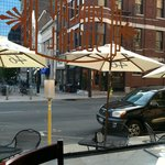 View of Short Street from Parlay Social