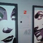 Door to the room
