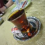 Et l'indispensable thé...........