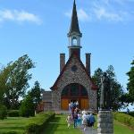 Learn the history of the Acadian people while enjoying beautiful gardens.