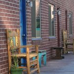 Rocket Inn Benches