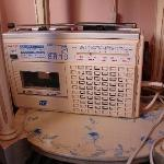Unterhaltungselektronik im Zimmer