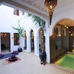 Courtyard Rid Chayma Marrakech